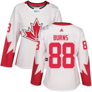 Wholesale Cheap Team Canada #88 Brent Burns White 2016 World Cup Women's Stitched NHL Jersey