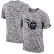 Wholesale Cheap Tennessee Titans Nike Sideline Legend Velocity Travel Performance T-Shirt Heathered Black