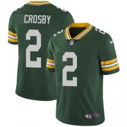 Wholesale Cheap Nike Packers #2 Mason Crosby Green Team Color Men's Stitched NFL Vapor Untouchable Limited Jersey