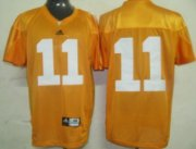 Wholesale Cheap Tennessee Volunteers #11 Justin Hunter Orange Jersey