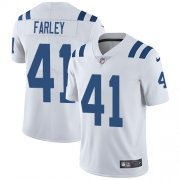 Wholesale Cheap Nike Colts #41 Matthias Farley White Youth Stitched NFL Vapor Untouchable Limited Jersey