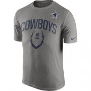 Wholesale Cheap Dallas Cowboys Nike Legend Icon Performance T-Shirt Dark Gray