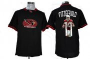 Wholesale Cheap Nike Cardinals #11 Larry Fitzgerald Black Men's NFL Game All Star Fashion Jersey