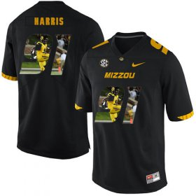 Wholesale Cheap Missouri Tigers 91 Charles Harris Black Nike Fashion College Football Jersey