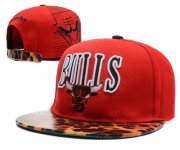 Wholesale Cheap NBA Chicago Bulls Snapback Ajustable Cap Hat DF 03-13_53