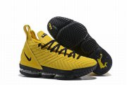Wholesale Cheap Nike Lebron James 16 Air Cushion Shoes Yellow Black