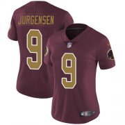 Wholesale Cheap Nike Redskins #9 Sonny Jurgensen Burgundy Red Alternate Women's Stitched NFL Vapor Untouchable Limited Jersey