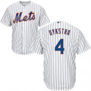 Wholesale Cheap Mets #4 Lenny Dykstra White(Blue Strip) Cool Base Stitched Youth MLB Jersey