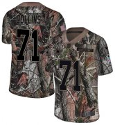 Wholesale Cheap Nike Cowboys #71 La'el Collins Camo Youth Stitched NFL Limited Rush Realtree Jersey