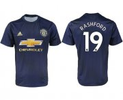 Wholesale Cheap Manchester United #19 Rashford Away Soccer Club Jersey