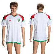 Wholesale Cheap Morocco Blank Away Soccer Country Jersey