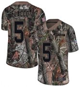 Wholesale Cheap Nike Broncos #5 Joe Flacco Camo Men's Stitched NFL Limited Rush Realtree Jersey
