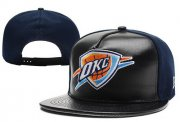 Wholesale Cheap NBA Oklahoma City Thunder Snapback Ajustable Cap Hat XDF 018