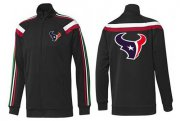 Wholesale Cheap NFL Houston Texans Team Logo Jacket Black