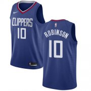Wholesale Cheap Nike Clippers #10 Jerome Robinson Blue NBA Swingman Icon Edition Jersey
