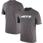 Wholesale Cheap New York Jets Nike Sideline Seismic Legend Performance T-Shirt Charcoal