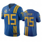 Wholesale Cheap Jacksonville Jaguars #75 Jawaan Taylor Royal Vapor Limited City Edition NFL Jersey
