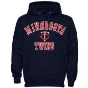 Wholesale Cheap Minnesota Twins Fastball Fleece Pullover Navy Blue MLB Hoodie