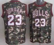 Wholesale Cheap Chicago Bulls #23 Michael Jordan Camo Fashion Jersey