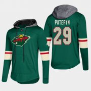 Wholesale Cheap Wild #29 Greg Pateryn Green 2018 Pullover Platinum Hoodie