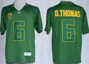 Wholesale Cheap Oregon Ducks #6 DeAnthony Thomas 2013 Dark Green Limited Jersey