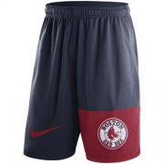 Wholesale Cheap Men's Boston Red Sox Nike Navy Cooperstown Collection Dry Fly Shorts