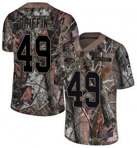 Wholesale Cheap Nike Seahawks #49 Shaquem Griffin Camo Youth Stitched NFL Limited Rush Realtree Jersey