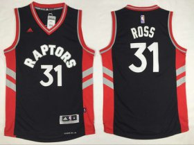Wholesale Cheap Men\'s Toronto Raptors #31 Terrence Ross Revolution 30 Swingman Black Jersey