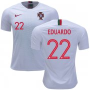 Wholesale Cheap Portugal #22 Eduardo Away Soccer Country Jersey