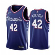 Wholesale Cheap Nike 76ers #42 Al Horford Navy 2019-20 City Edition Swingman NBA Jersey