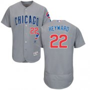 Wholesale Cubs #22 Jason Heyward Grey Flexbase Authentic Collection Road Stitched Baseball Jersey