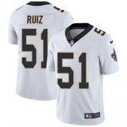 Wholesale Cheap Nike Saints #51 Cesar Ruiz White Youth Stitched NFL Vapor Untouchable Limited Jersey