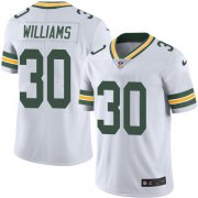 Wholesale Cheap Nike Packers #30 Jamaal Williams White Youth Stitched NFL Vapor Untouchable Limited Jersey