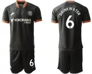 Wholesale Cheap Chelsea #6 Drink Water Third Soccer Club Jersey