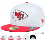 Wholesale Cheap Kansas City Chiefs fitted hats 11