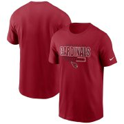 Wholesale Cheap Arizona Cardinals Nike Team Property Of Essential T-Shirt Cardinal