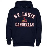 Wholesale Cheap St.Louis Cardinals Fastball Fleece Pullover Navy Blue MLB Hoodie