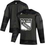 Wholesale Cheap New York Rangers Adidas 2019 Veterans Day Authentic Practice NHL Jersey Camo
