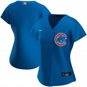 Wholesale Cheap Chicago Cubs Nike Women's Alternate 2020 MLB Team Jersey Royal