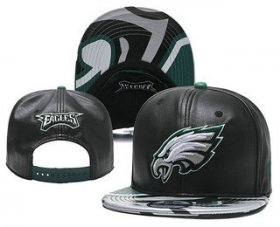 Wholesale Cheap Philadelphia Eagles Snapback Ajustable Cap Hat YD 1