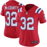 Wholesale Cheap Nike Patriots #32 Devin McCourty Red Alternate Women's Stitched NFL Vapor Untouchable Limited Jersey