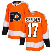 Wholesale Cheap Adidas Flyers #17 Wayne Simmonds Orange Home Authentic Stitched Youth NHL Jersey