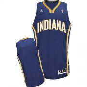 Wholesale Cheap Indiana Pacers Blank Navy Blue Swingman Jersey