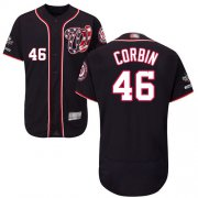 Wholesale Cheap Nationals #46 Patrick Corbin Navy Blue Flexbase Authentic Collection 2019 World Series Champions Stitched MLB Jersey
