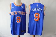 Wholesale Cheap Knicks 9 R.J. Barrett Royal Nike Swingman Jersey