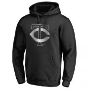 Wholesale Cheap Minnesota Twins Platinum Collection Pullover Hoodie Black