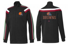 Wholesale Cheap NFL Cleveland Browns Victory Jacket Black