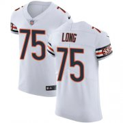 Wholesale Cheap Nike Bears #75 Kyle Long White Men's Stitched NFL Vapor Untouchable Elite Jersey