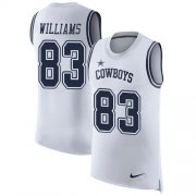 Wholesale Cheap Nike Cowboys #83 Terrance Williams White Men's Stitched NFL Limited Rush Tank Top Jersey