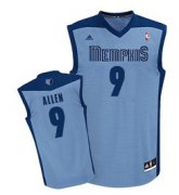 Wholesale Cheap Memphis Grizzlies #9 Tony Allen Light Blue Swingman Jersey